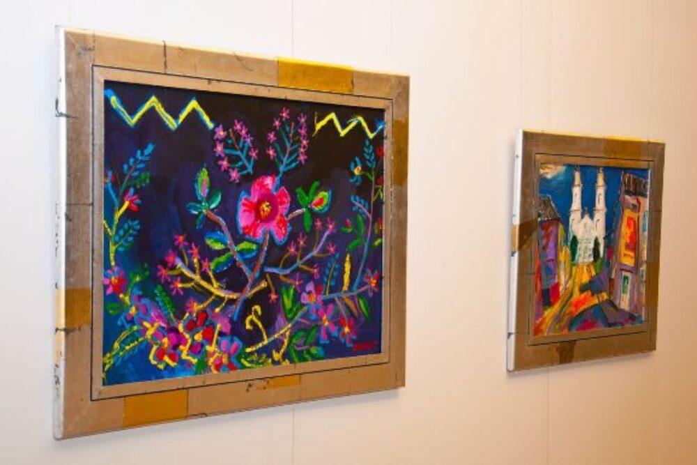 """Rītumu Bankys galerejā apsaverama Zvejsaļnīka gleznu izstuode """"Reiz ziedošā dārzā…"""""""