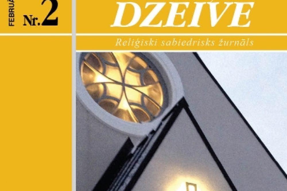"""Žurnala """"Katōļu Dzeive"""" februara numerī skaiteisim"""