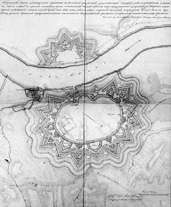 Daugovpils cituksnis 1816 goda plans
