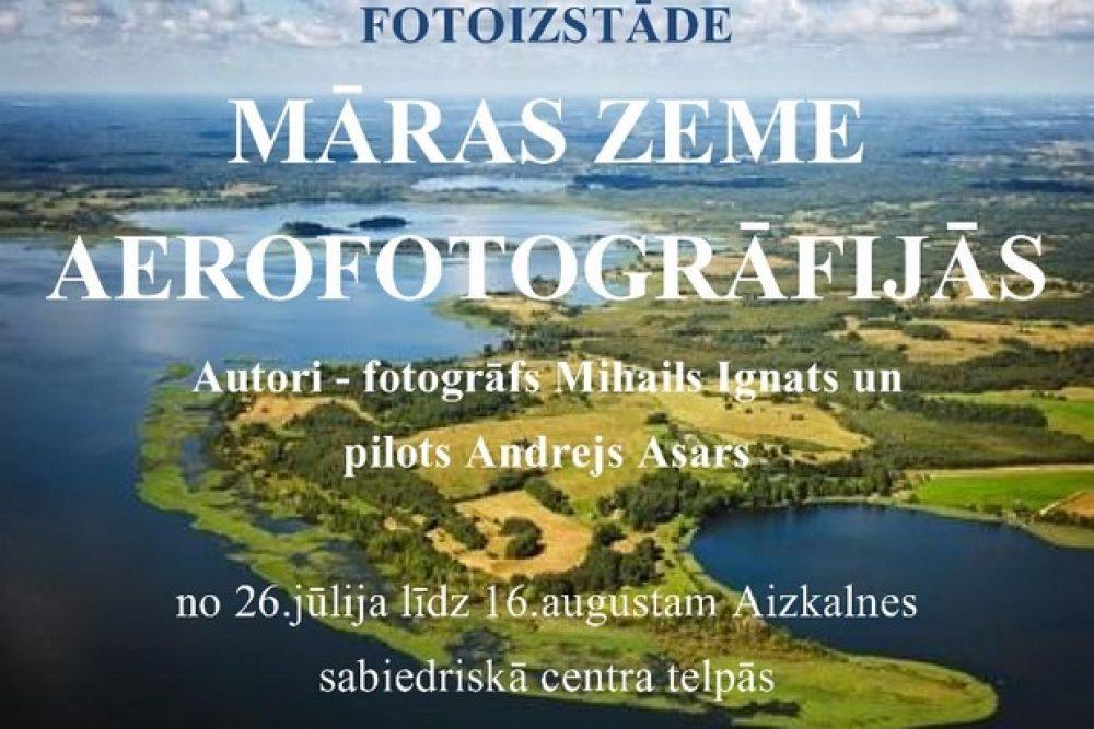 Aizkalnē apsaveramys Latgolys aerofotografejis