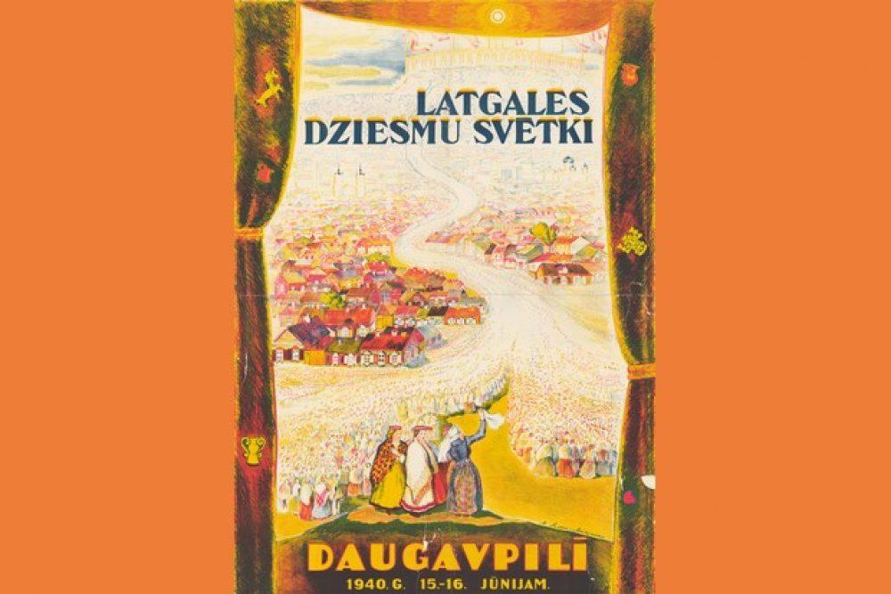 Dzīsmē spāks – 1940. goda Latgolys dzīšmu svātki