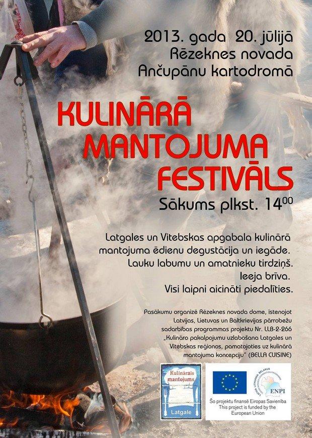 Kulinaruo montuojuma festivals