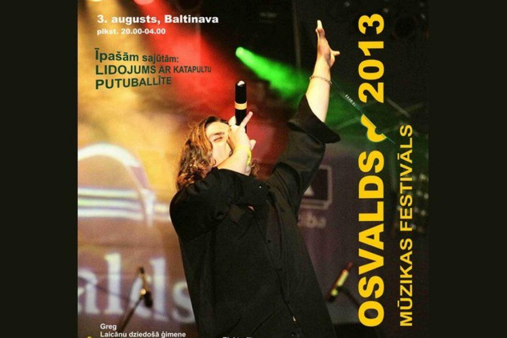 "Festivals ""Osvalds"" jau itūnedeļ"