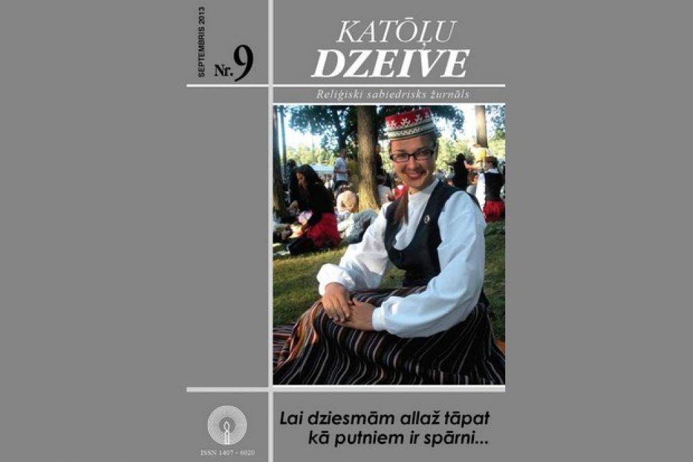 """Žurnala """"Katōļu Dzeive"""" septembra numerī skaiteisim"""