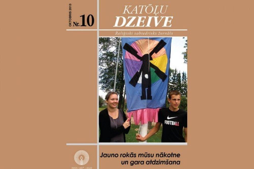 """Žurnala """"Katōļu Dzeive"""" oktobra numerī skaiteisim"""