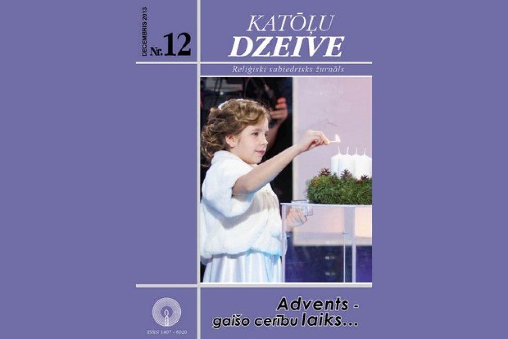 """Žurnala """"Katōļu Dzeive"""" decembra numerī skaiteisim"""