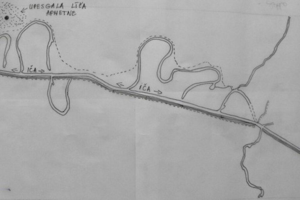 Senejī īdzeivuotuoji Upisgola leiča apmetnē