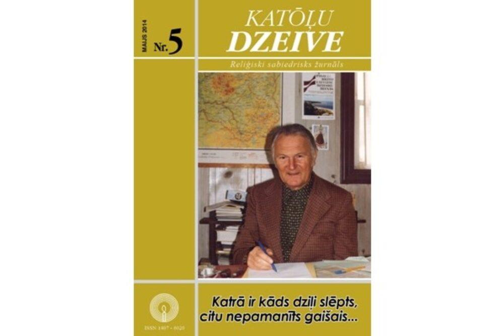 """Kū skaiteisim žurnala """"Katōļu Dzeive"""" maja numerī"""
