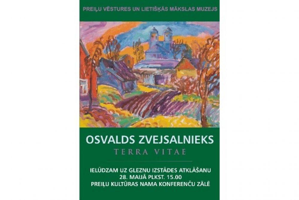 Preiļūs tiks atkluota Osvalda Zvejsaļnīka gleznu izstuode