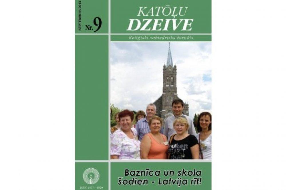 """Kū skaiteisim žurnala """"Katōļu Dzeive"""" septembra numerī"""