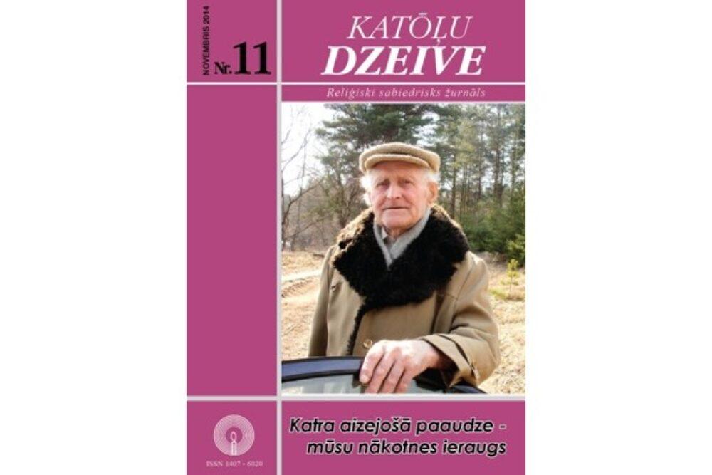 """Kū skaiteisim žurnala """"Katōļu Dzeive"""" novembra numerī"""