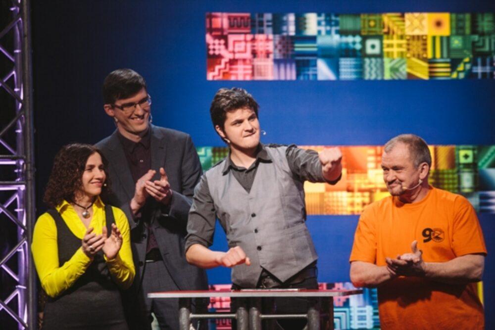 """Šudiņ raidejumā """"Latvijas novadu cīņas"""" pīsadaleis Rēzeknis komanda"""