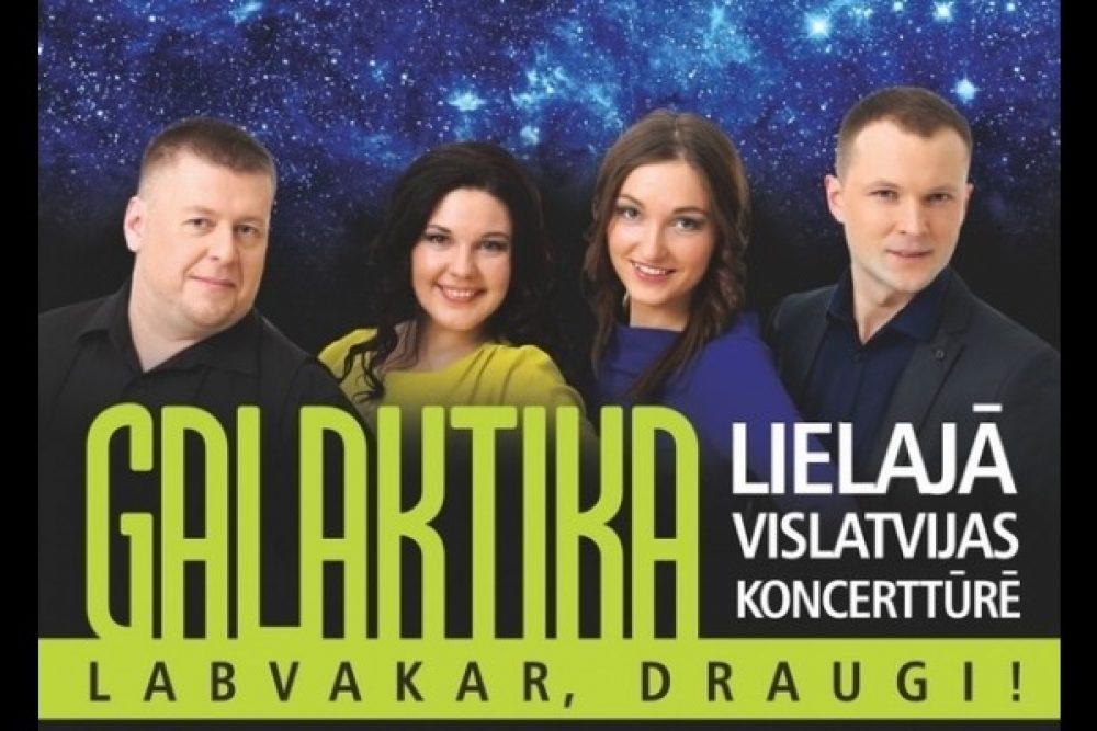 """Ar koncertu Leivuonā """"Galaktika"""" īsuoks rudiņa koncertturu"""