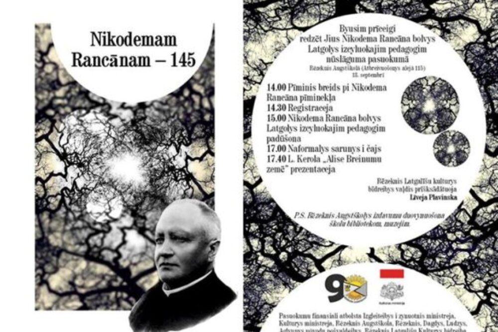 13. septembrī padūs Nikodema Rancāna bolvu