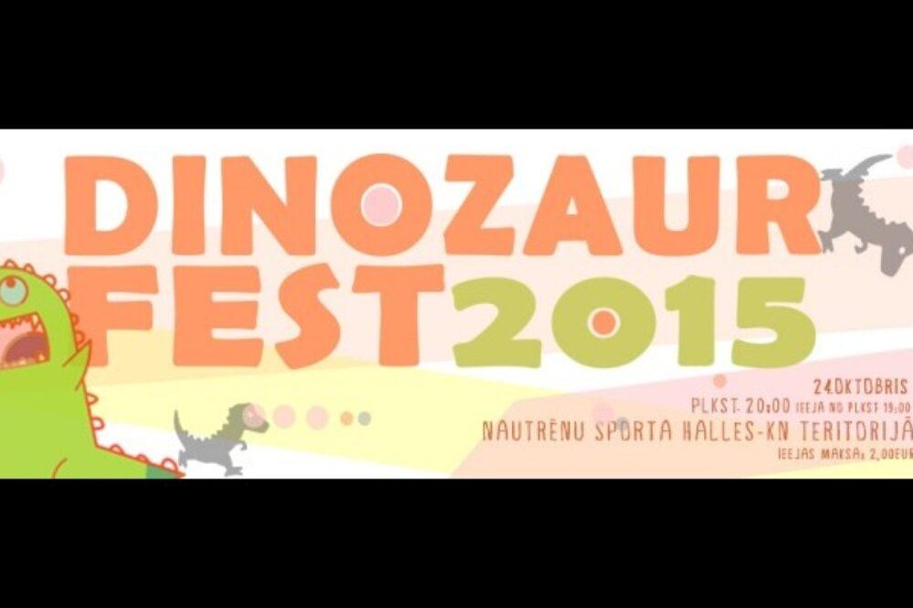 "Rogovkā nūtiks ""DinozaurFest 2015"""