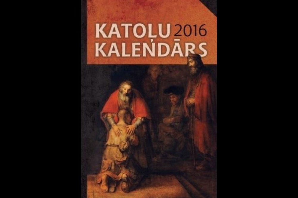 """Izdūts """"Katoļu Kalendārs 2016"""""""