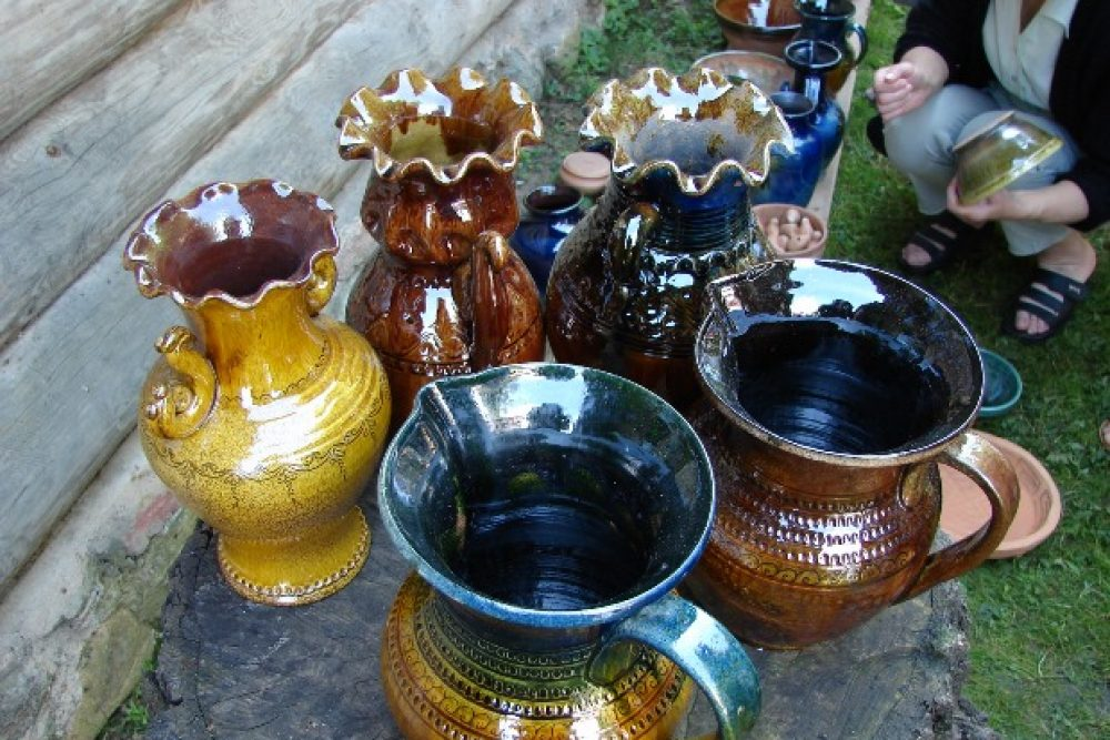Augustā kūrs keramikys cepli Juosmuižā