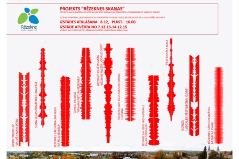 Byus apsaverama Rēzeknis skaņu vizualizaceja