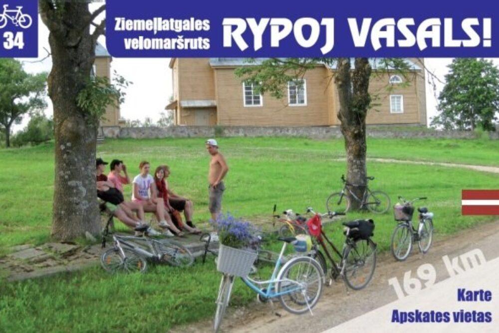 """Pyrmais īzeimātais velomaršruts Latgolā – """"Rypoj vasals!"""""""