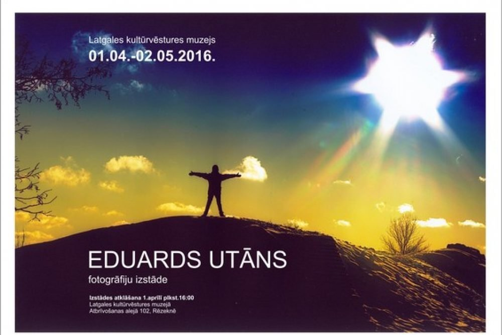 Rēzeknē apsaverama Eduarda Utāna jubileja fotoizstuode