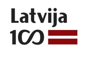 Latvijai 100 logo FI