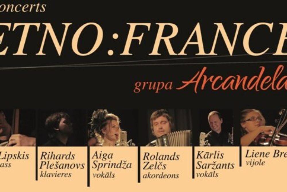 """Grupys """"Arcandela"""" koncertā skanēs senejī fraņču tautys deju meļdeni"""