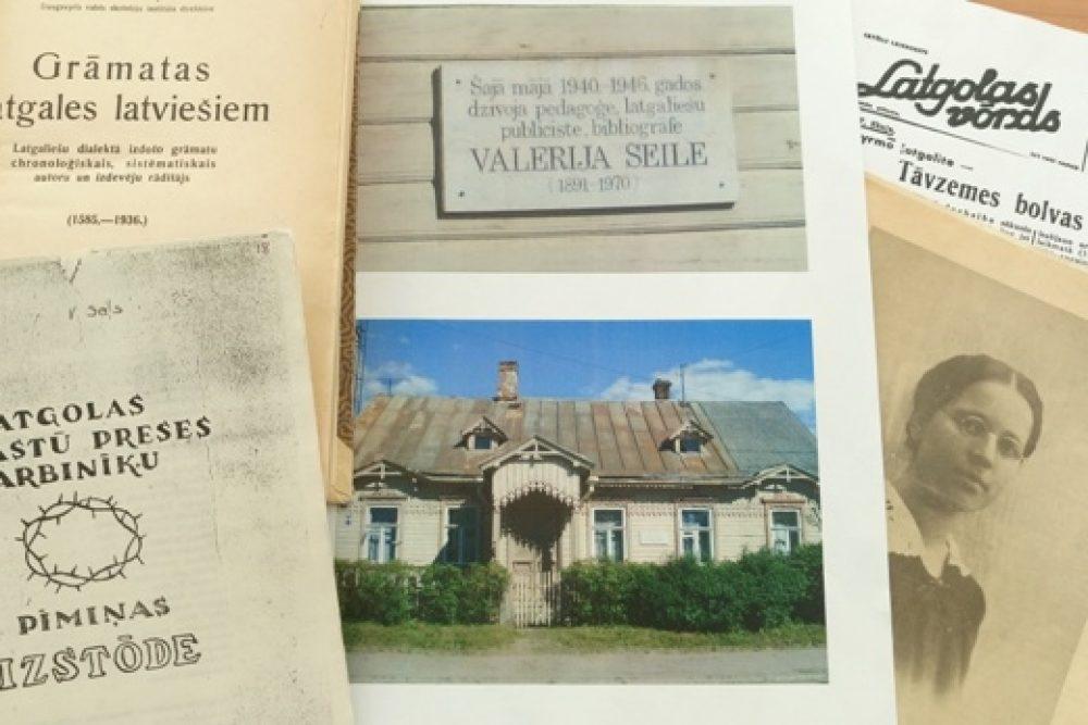 Rēzeknis bibliotekā apsaverama Valerejis Seilis 125. jubilejam veļteita izstuode