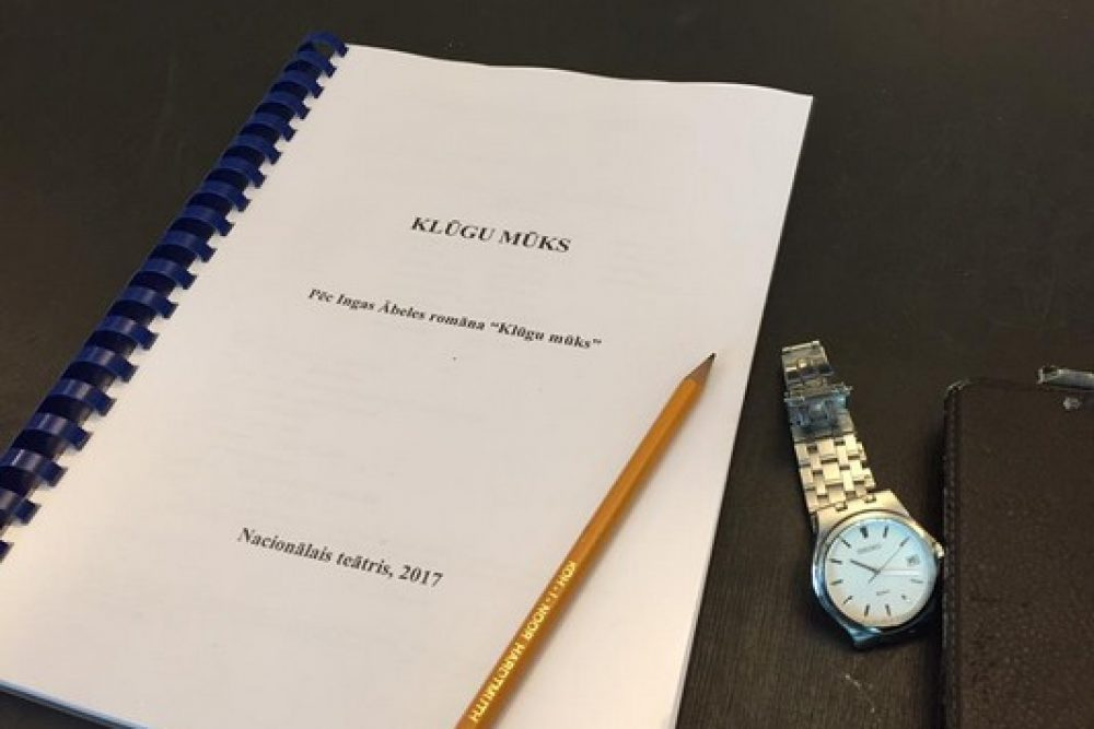 "Latvejis Nacionalais teatris rudinī sezonu suoks ar ""Klūgu mūku"""