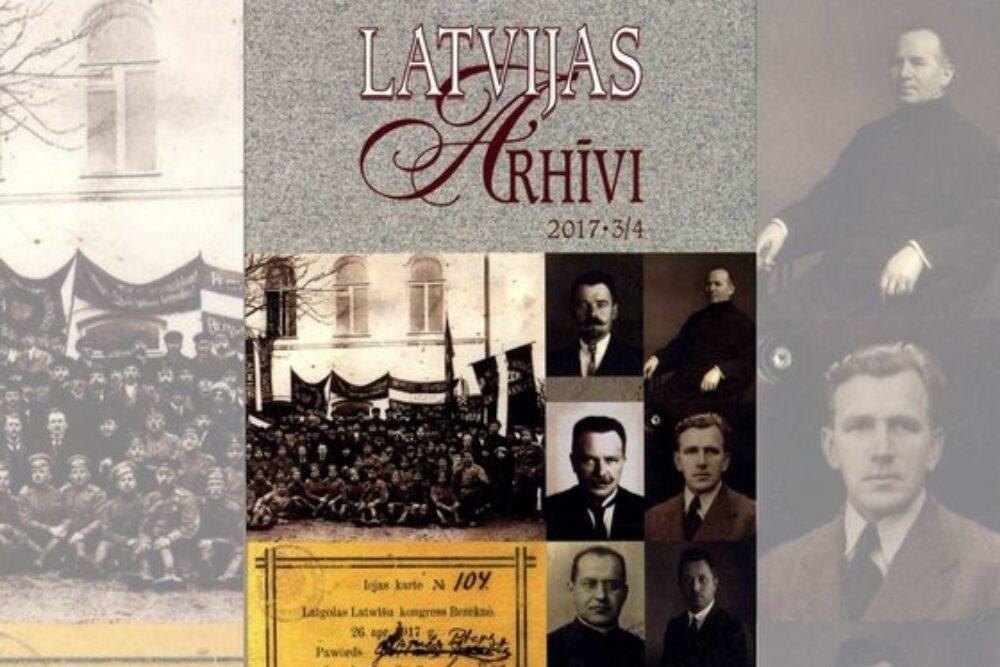 Izdūtys zynuotniskys publikacejis par 1917. goda Latgolys kongresu