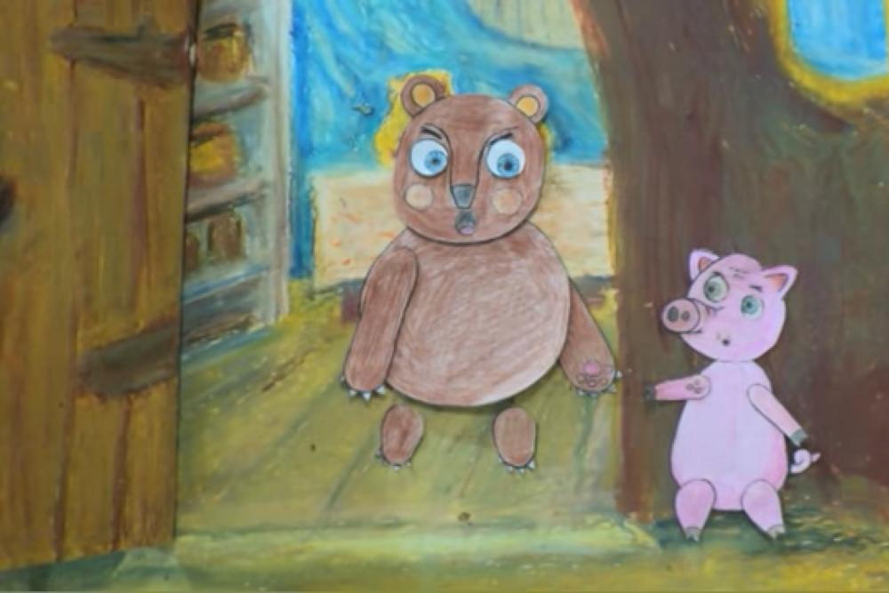 Jaunajā animacejis kinā latgaliski Vinnejs Pūks īsarūn Viļānūs
