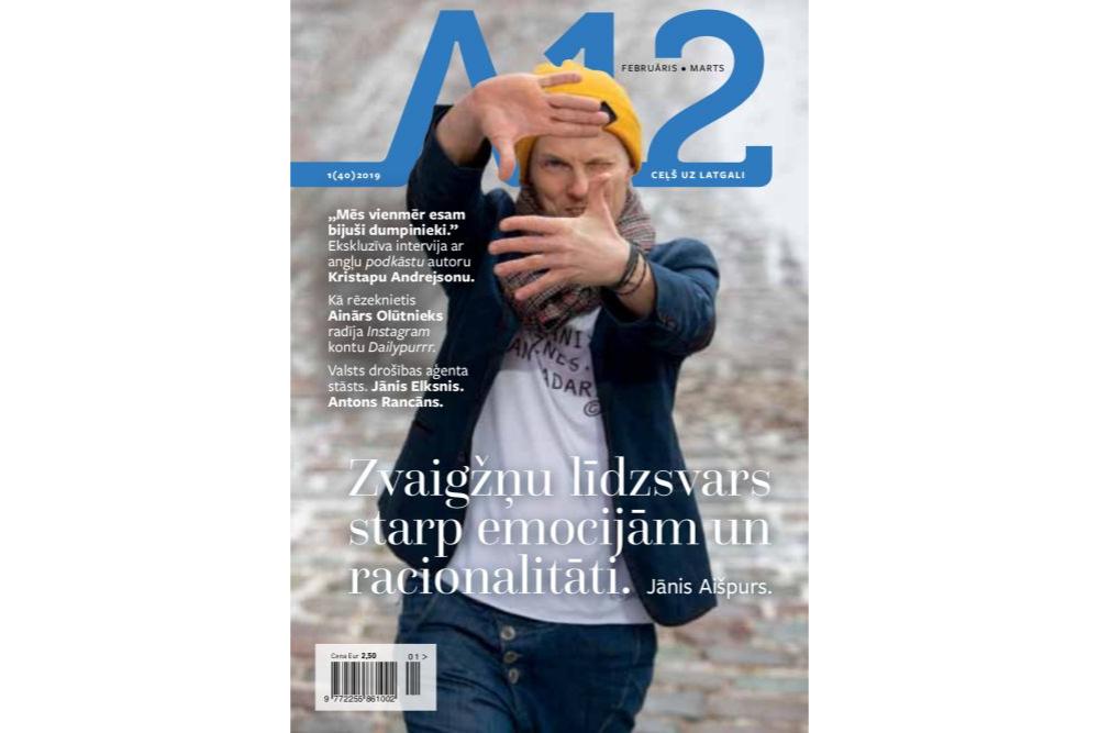 """Uzjiemeigi jaunīši, podkāsti i čekys maisi – jaunais žurnals """"A12"""""""