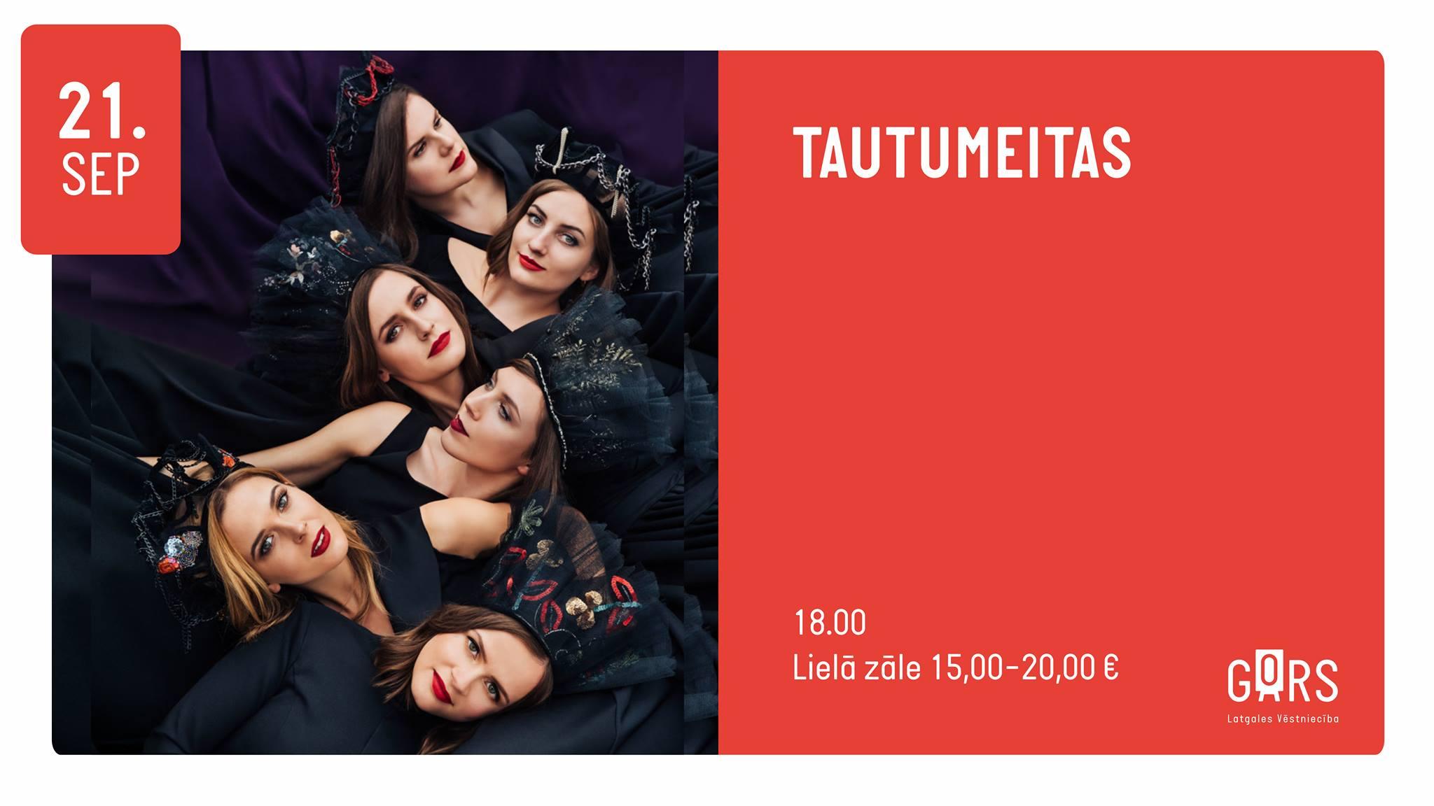 """Grupys """"Tautumeitas"""" koncerts @ Latgolys viestnīceibā GORS"""