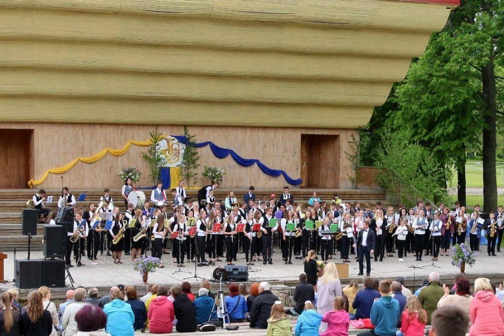 Baļtinovā pyutieju orkestru festivals