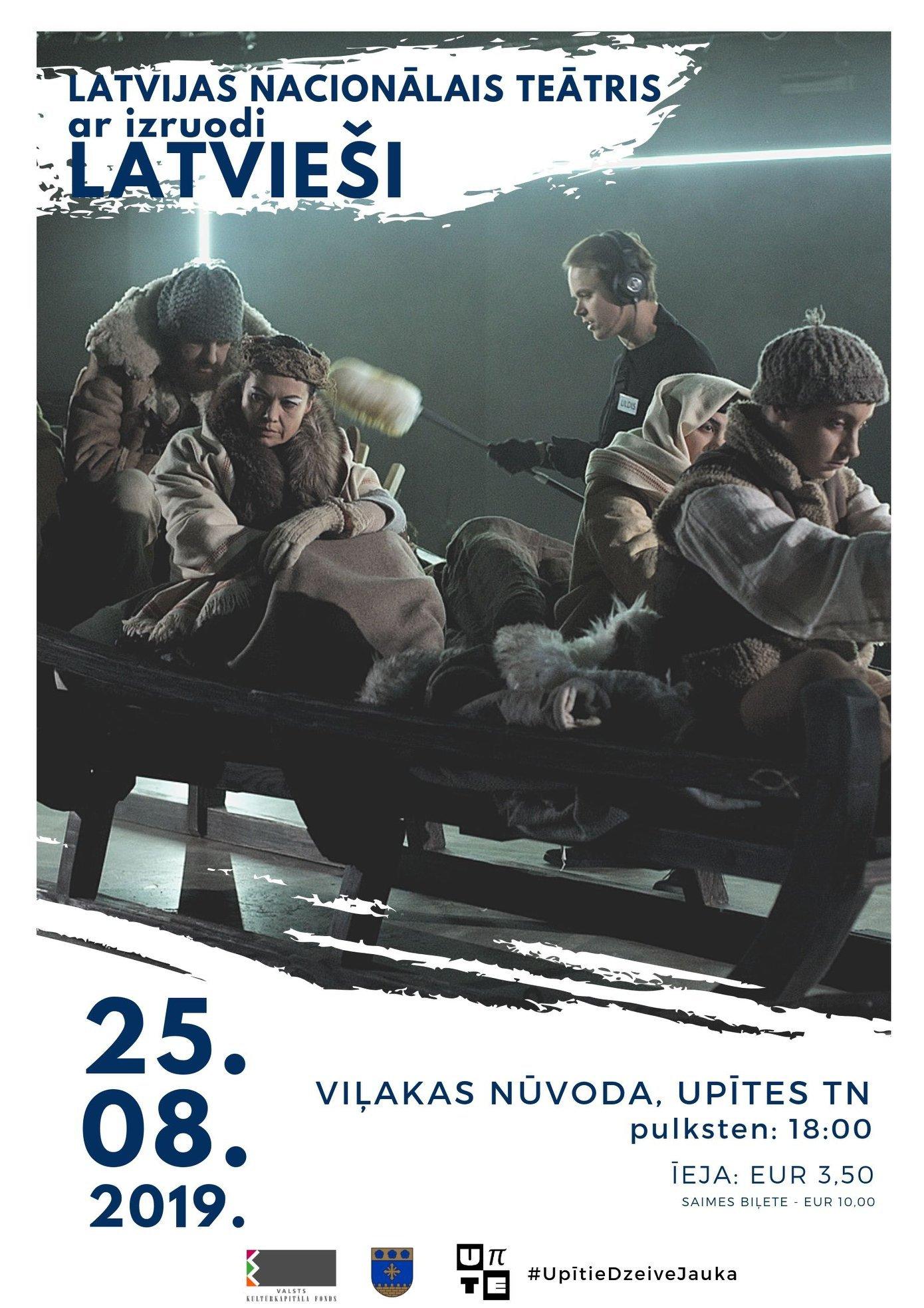"""Teatra izruode """"Latvieši"""" @ Vileks nūvoda Upīte"""