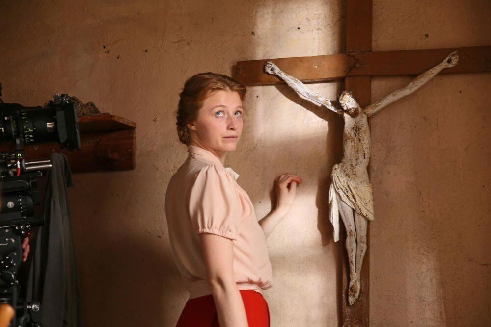 Agnese Cīrule: vīns nu izaicynuojumu beja filmā runuot latgaliski