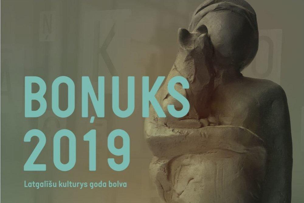 """Aicynoj dasaceit pretendentus Latgalīšu kulturys goda bolvai """"Boņuks 2019"""""""