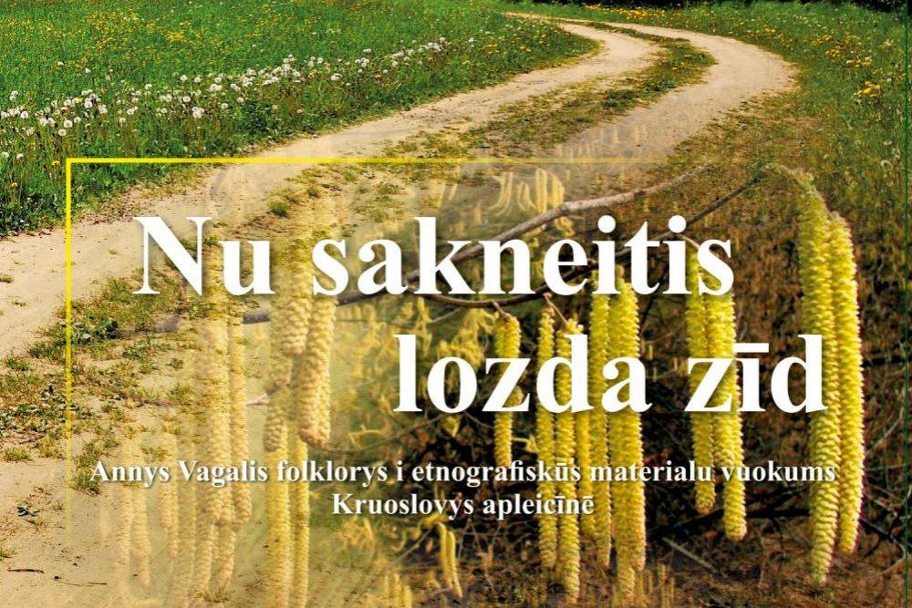 Prezentēs gruomotā apkūpuotū Kruoslovys pusis folklorys i etnografiskū materialu