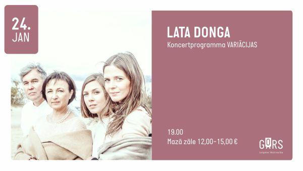 LATA DONGA koncerts