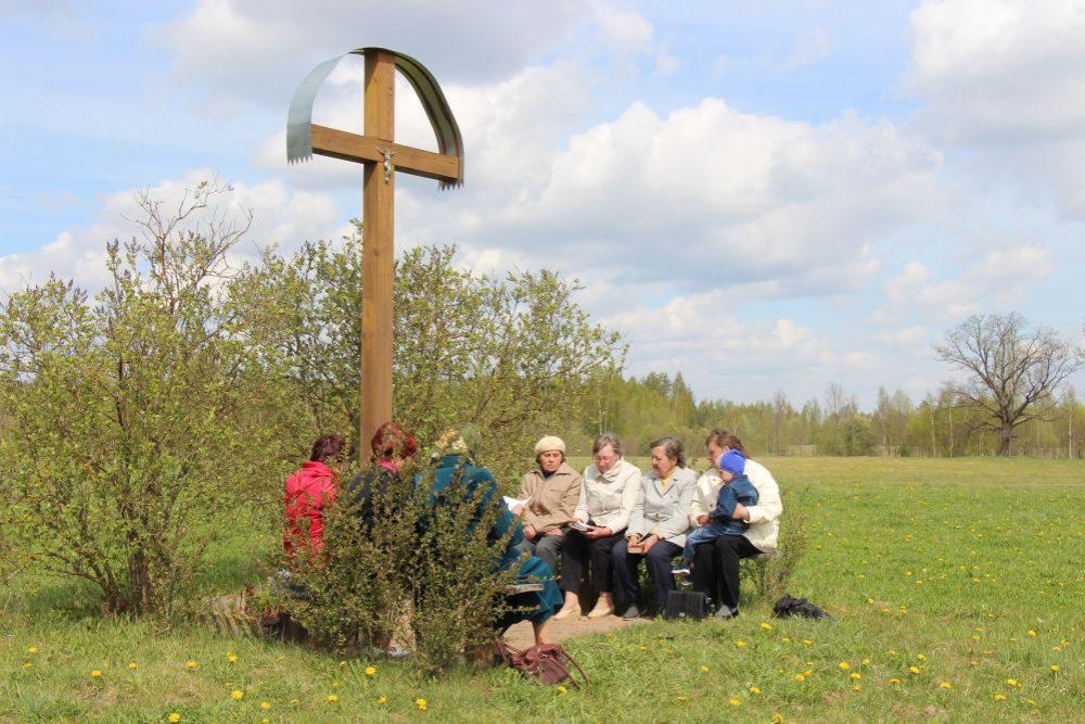 Latgolys namaterialais kulturys montuojums: maja dzīduojumi Dagdys nūvodā