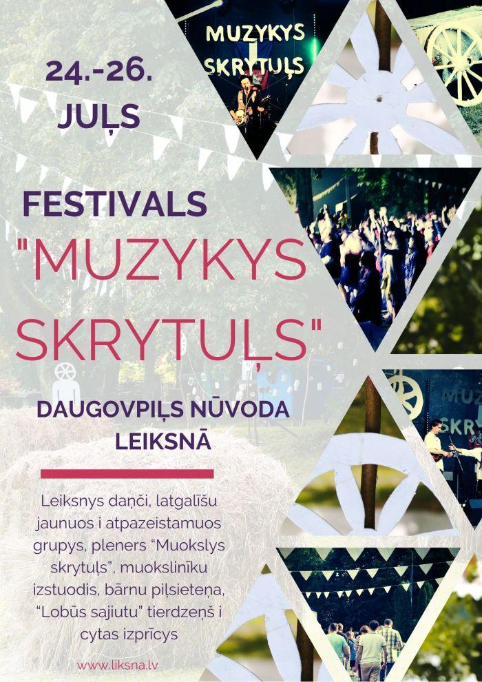 """Festivals """"Muzykys skrytuļs"""" @ Leiksna"""