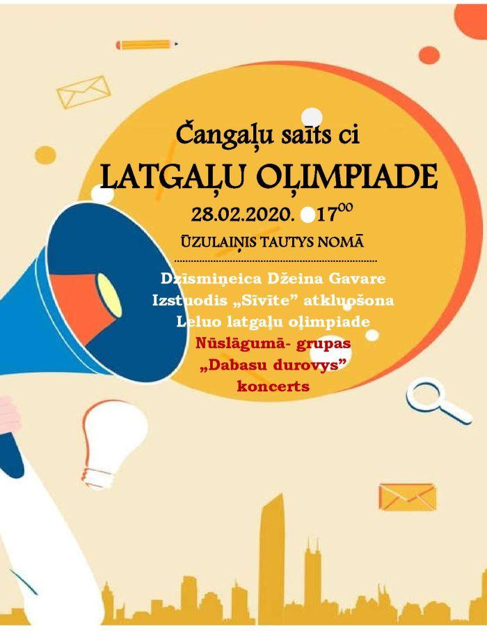 Čangaļu saīts ci latgaļu olimpiade @ Ūzulainis TN