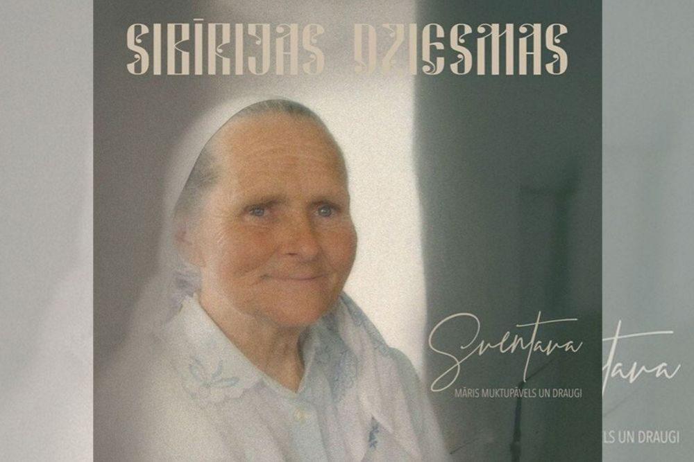 """Albumā """"Sibīrijas dziesmas"""" īkļautys latgalīšu dzīsmis"""