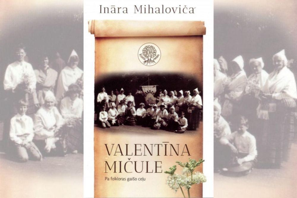 Izdūta gruomota par folkloristi Valentīnu Mičuli