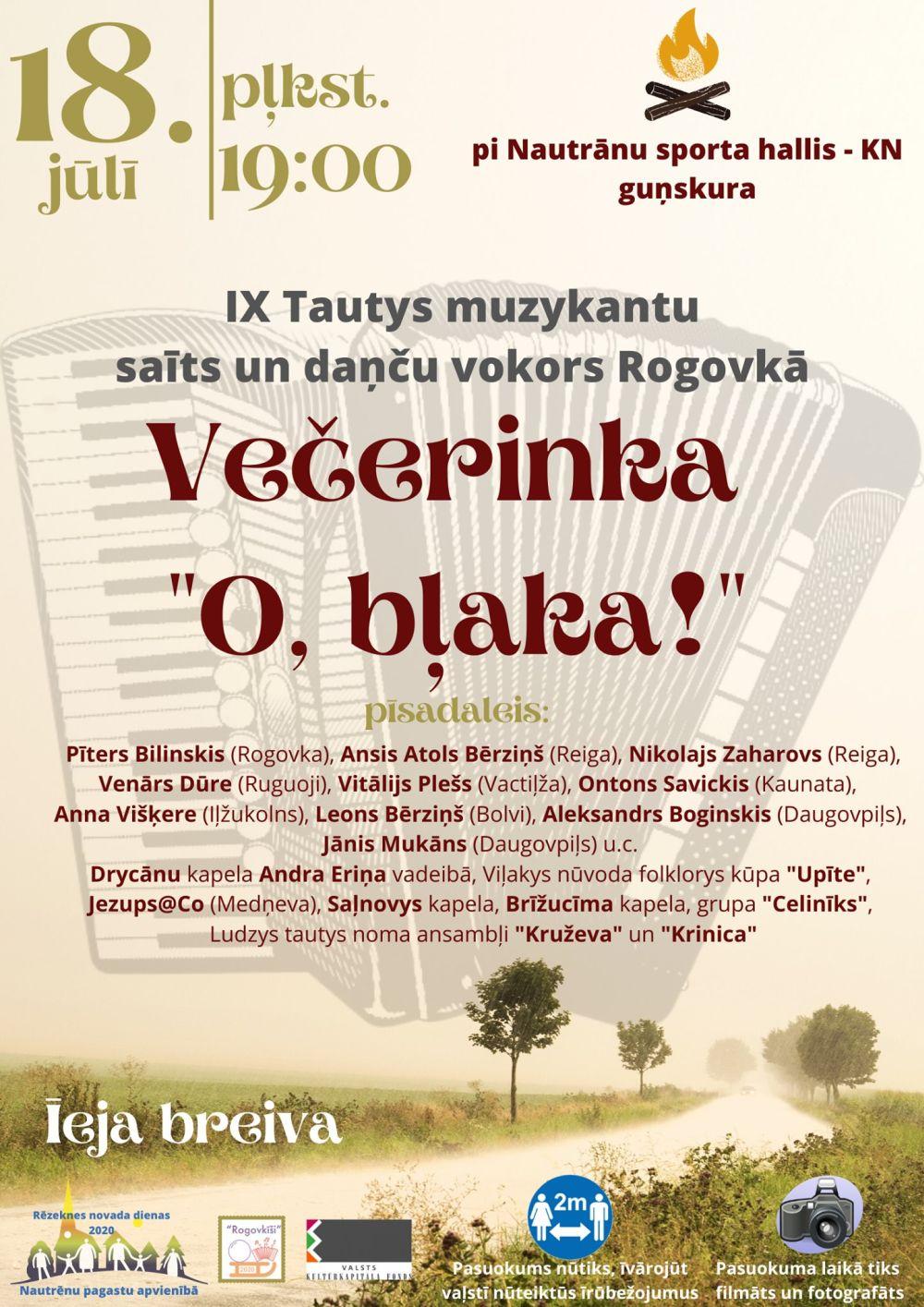 """Večerinka """"O, bļaka!"""" @ Rogovka"""