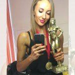 Bodibildinga saceņseibu uzvarātuoja Evita Lozda