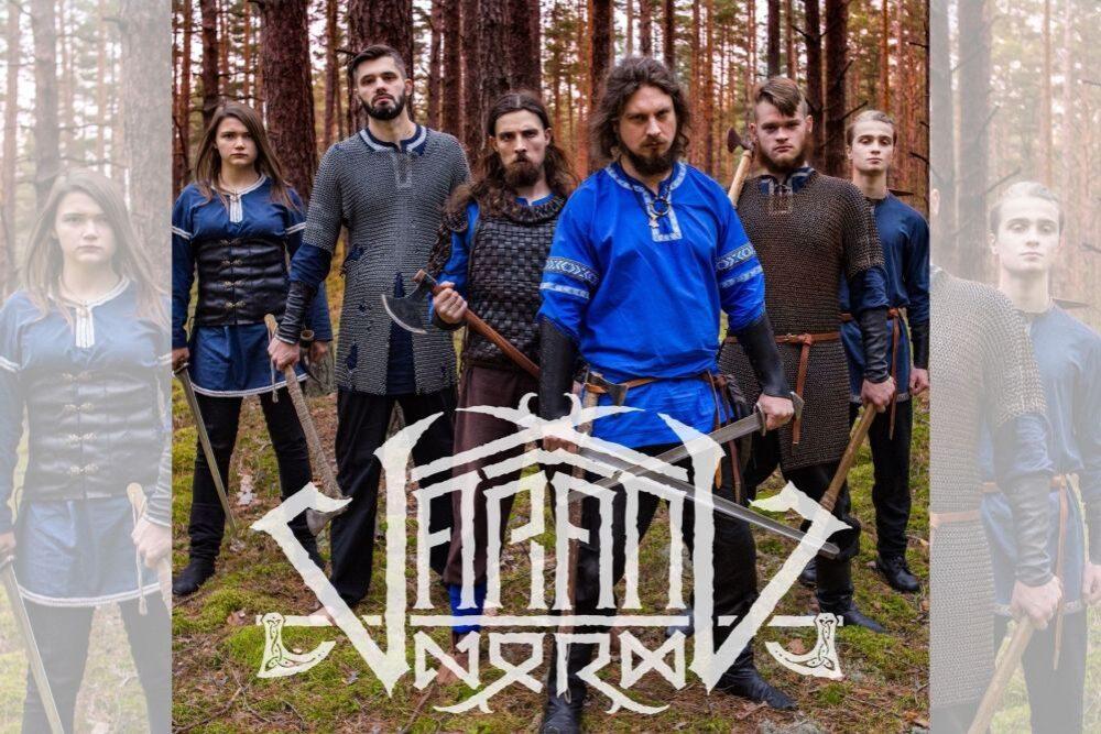 """Metalmuzykys grupa """"Varang Nord"""" pīduovoj dzīsmi """"Svietņeica"""""""