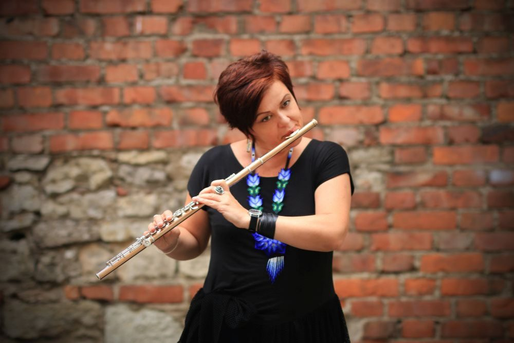 Flautiste Ilona Kudiņa: Latgola maņ ir bierneibys zeme