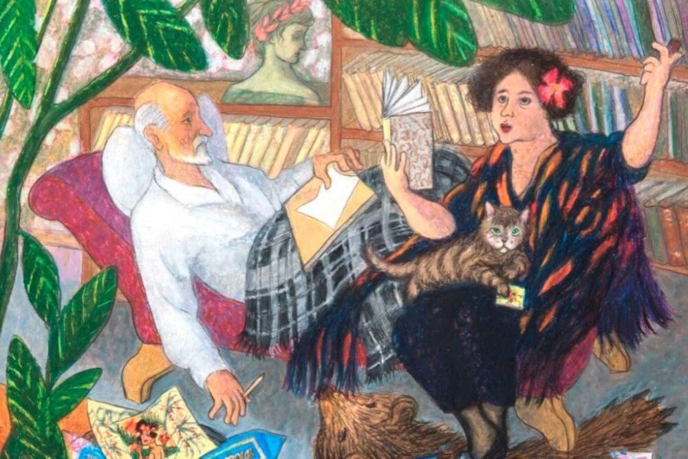 Izstuodē var izzynuot Raiņa i Aspazejis bibliotekys nūslāpumus