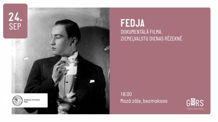 "Dokumentaluo filma ""Fedja"" @ Latgolys viestnīceiba GORS"