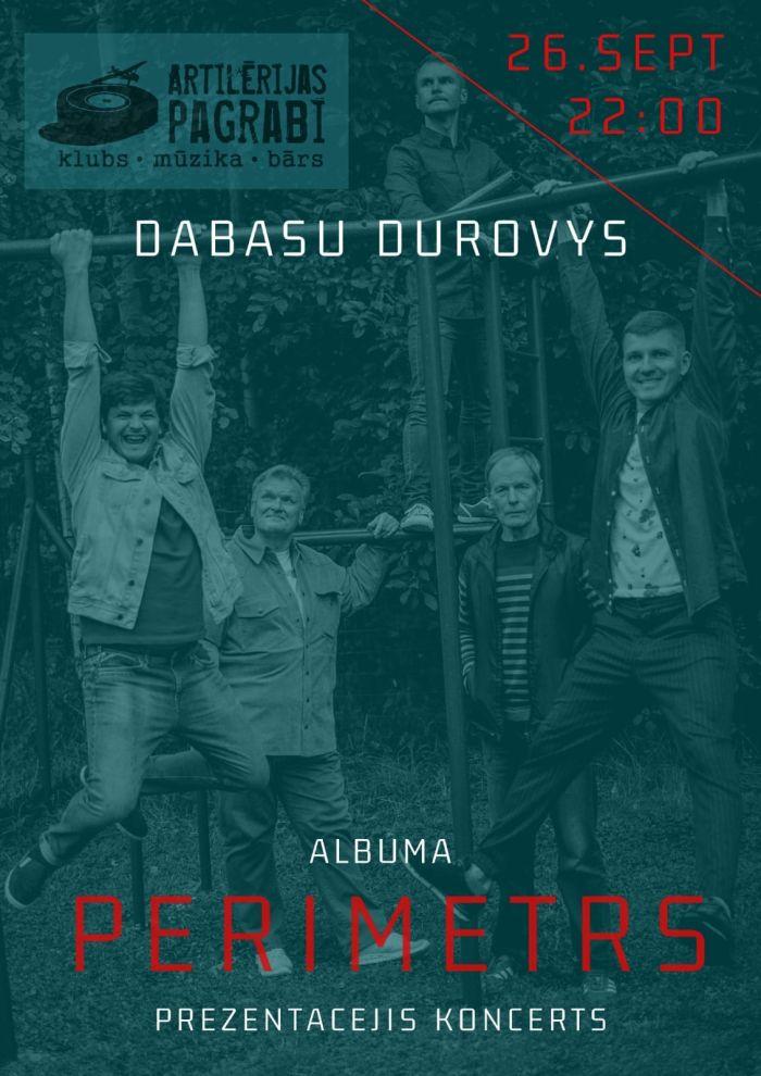 """""""Dabasu durovu"""" albuma """"Perimetrs"""" prezentacejis koncerts @ Klubs """"Artilērijas pagrabi"""" (Daugovpiļs)"""